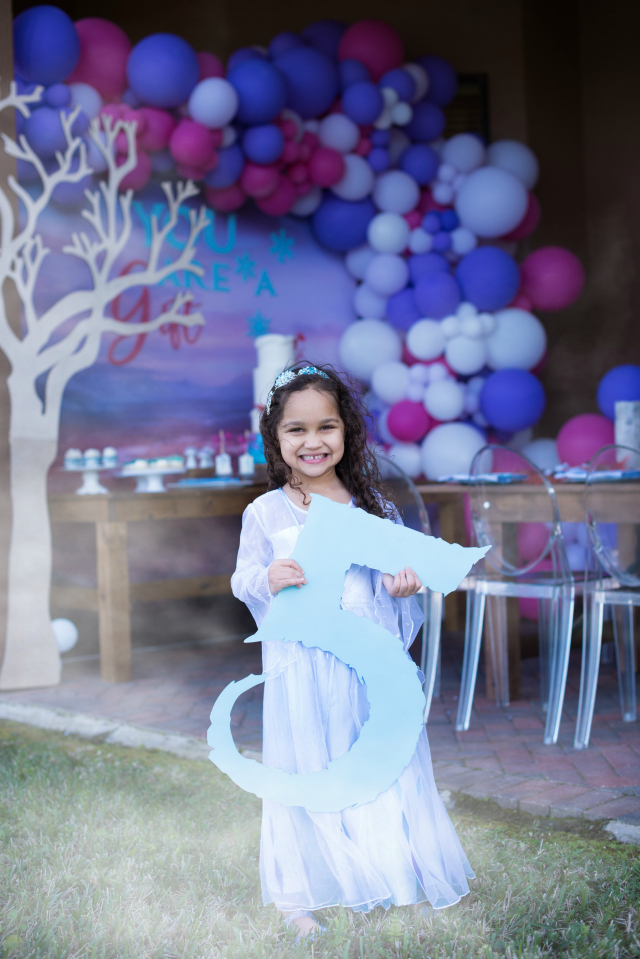 Frozen 2 Themed 5th Birthday Party