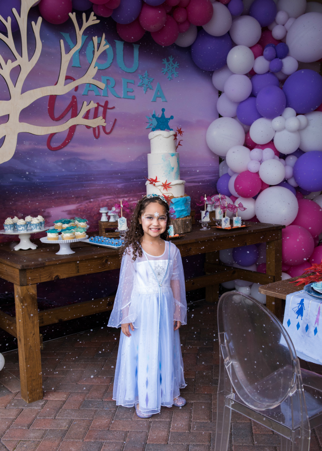 Frozen 2 Birthday Dress