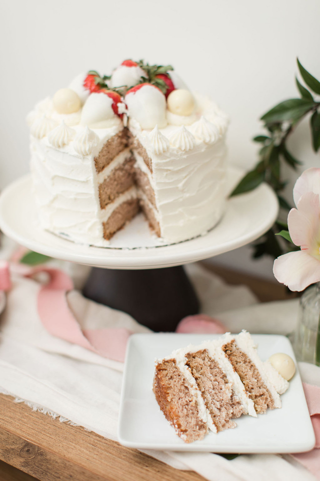 Galentine's Party Cake