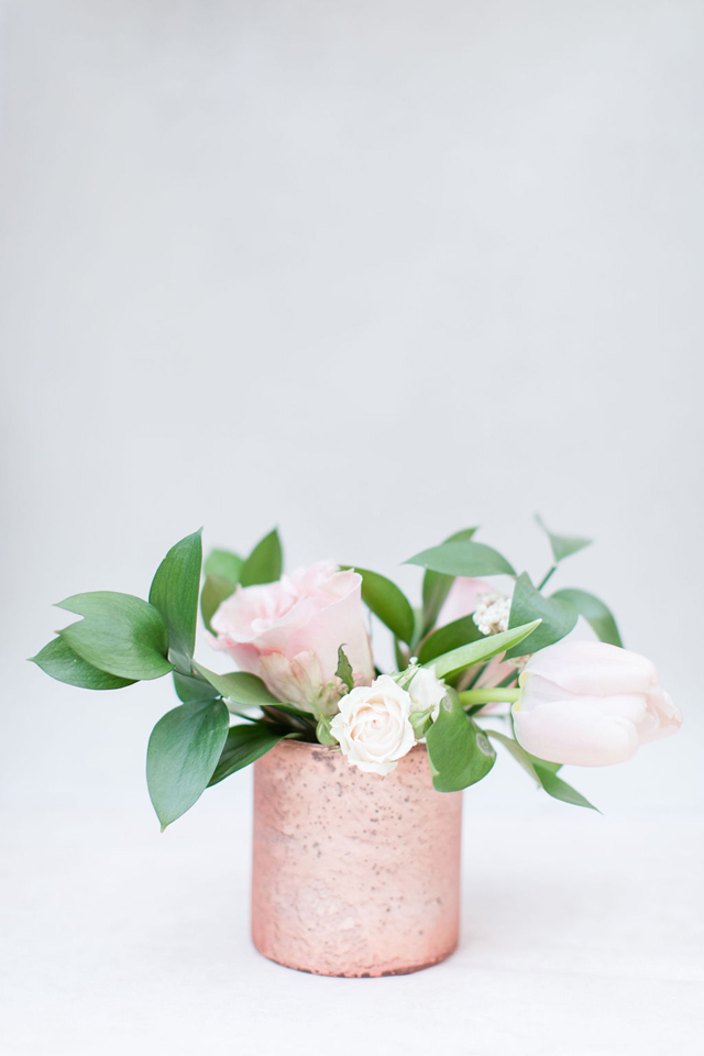 Blush Pink Flower Centerpiece