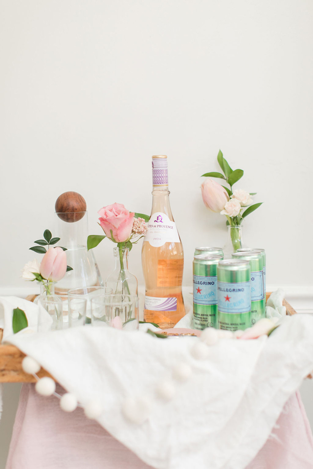 Galentine's Party Drinks