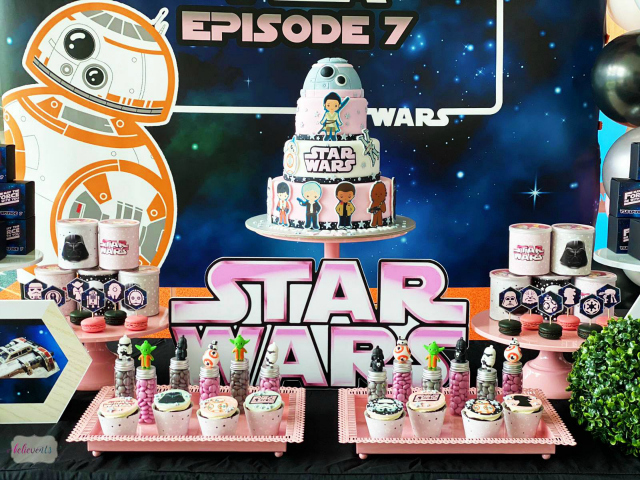 Girly Star Wars Party Ideas