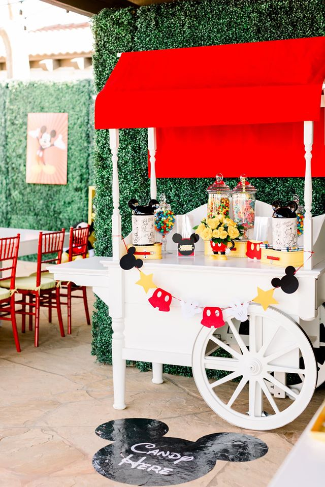 Mickey Mouse Candy Cart