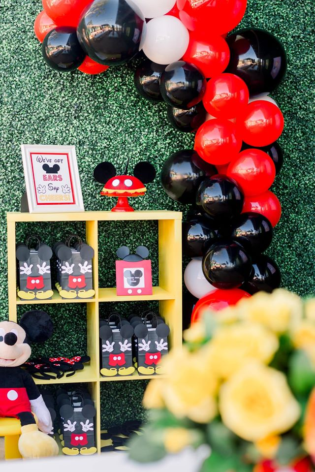 Mickey Mouse Favors