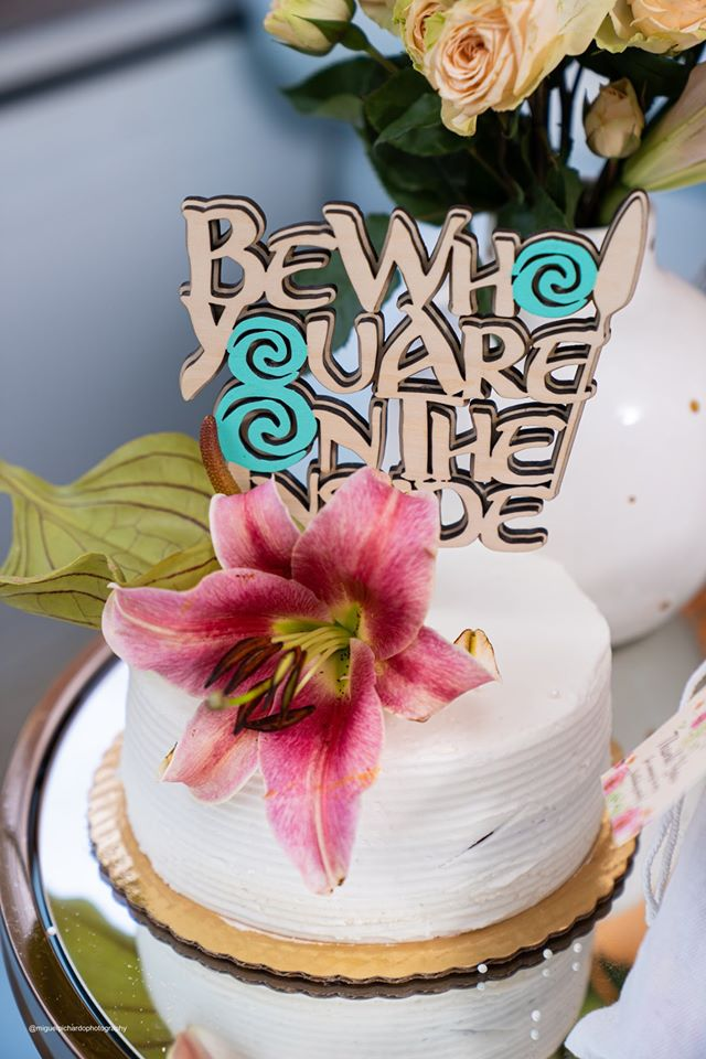 Moana Cake and Cake Topper