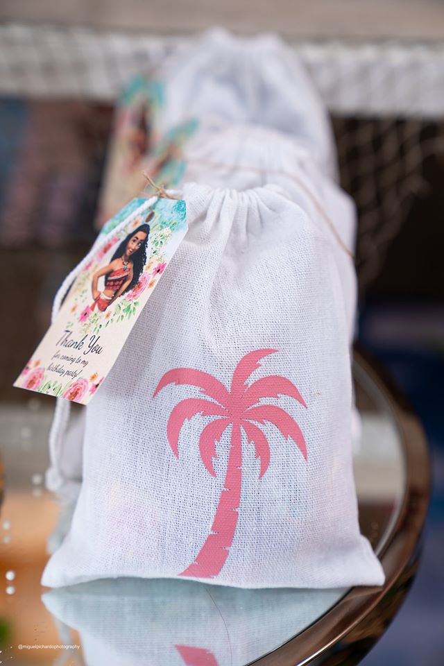 Moana Party Favor Bags