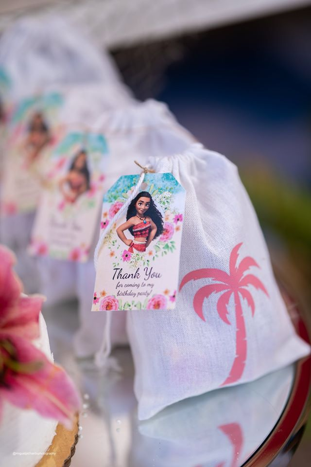 Moana Favor Tags