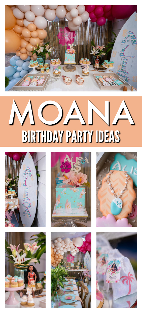 Moana Themed Party on Pretty My Party