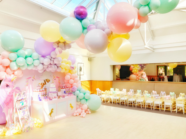 Pastel Unicorn Themed Party