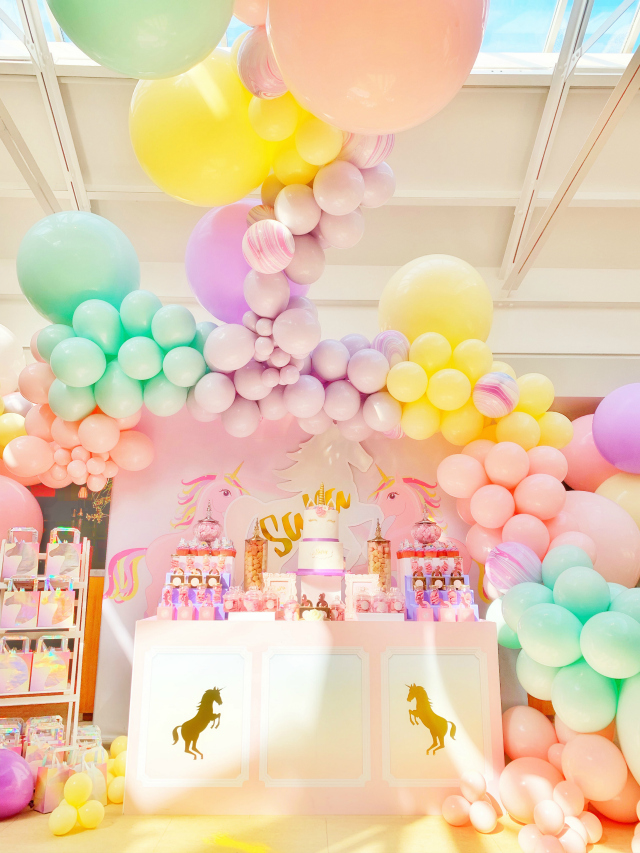 Amazing Pastel Unicorn Dessert Table