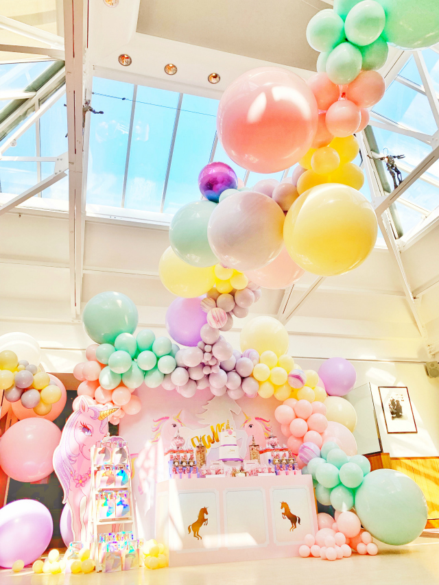 Awesome Pastel Balloon Garland