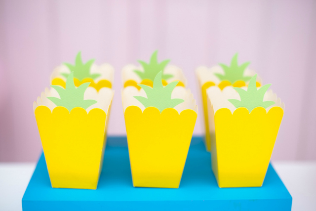 Pineapple Snack Boxes