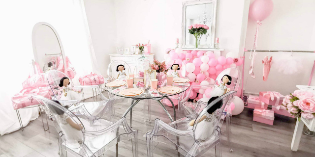 Pink Ballerina Themed Party