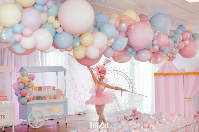 Pink Carnival Birthday Party Ideas
