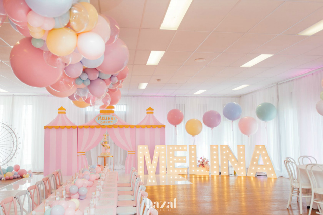 Pink Carnival Party Decorations