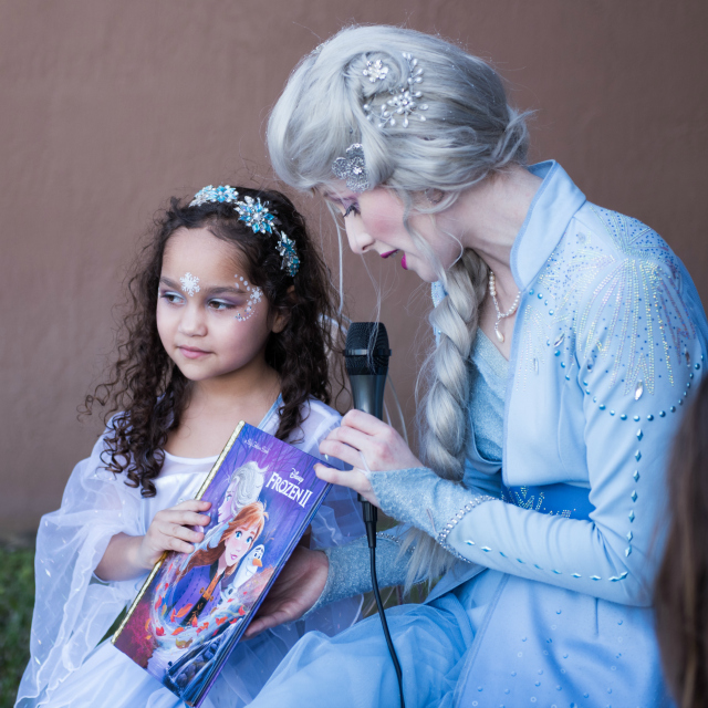 Frozen Book Reading With Elsa