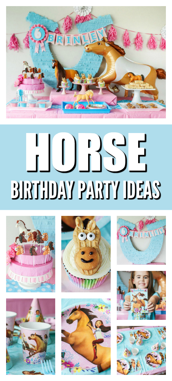 Spirit Horse Themed Birthday Party on Pretty My Party