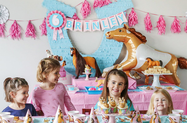 Horse Themed Birthday Party