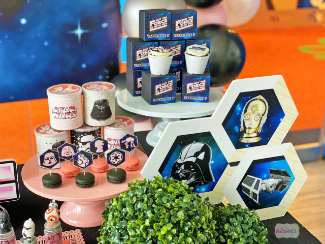 Star Wars Birthday Decor