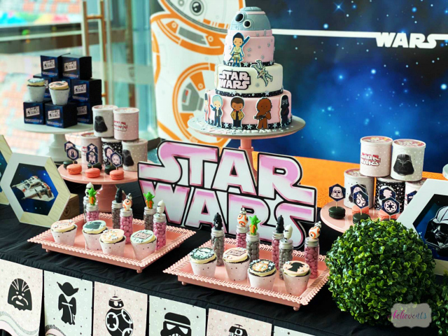Star Wars Party Desserts