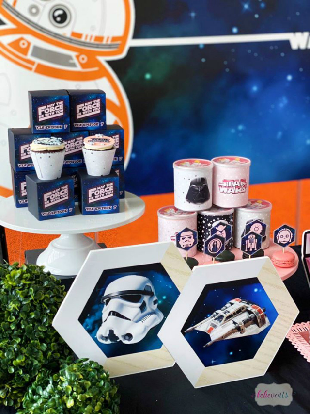 Star Wars Themed Party Decor