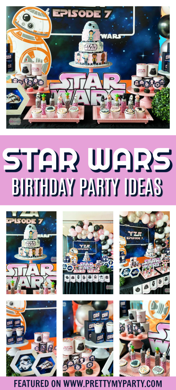 Star Wars Girl Birthday Party on Pretty My Party