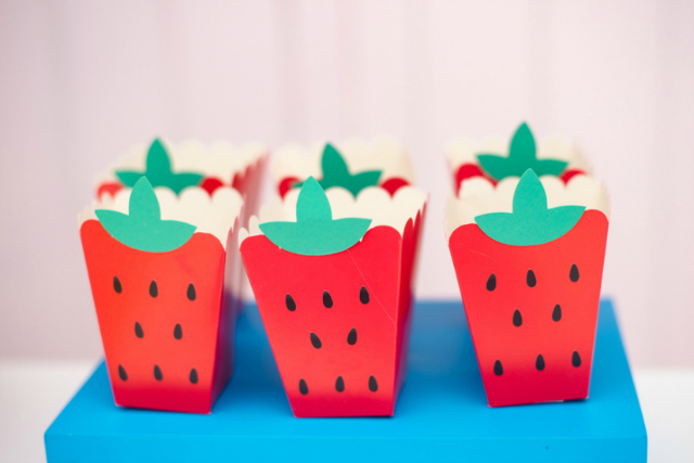 Strawberry Snack Boxes