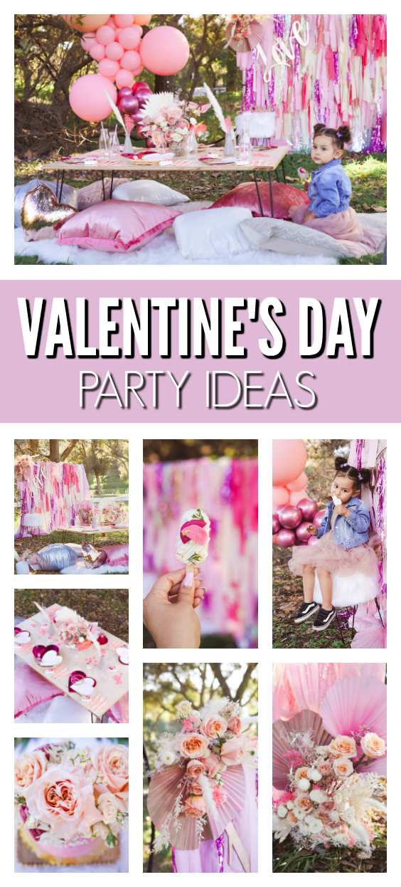 Valentine's Day Themed Party on Pretty My Party