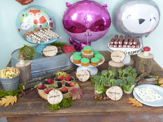 Woodland Party Dessert Table