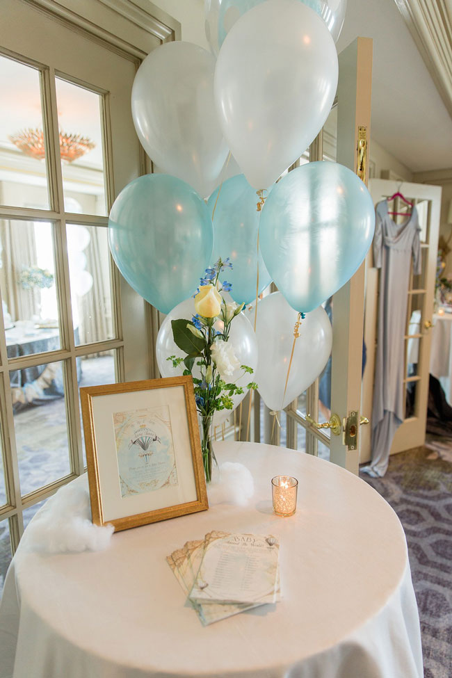 Hot Air Balloon Baby Shower Game Printables