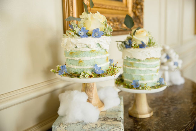 Naked Baby Shower Cakes