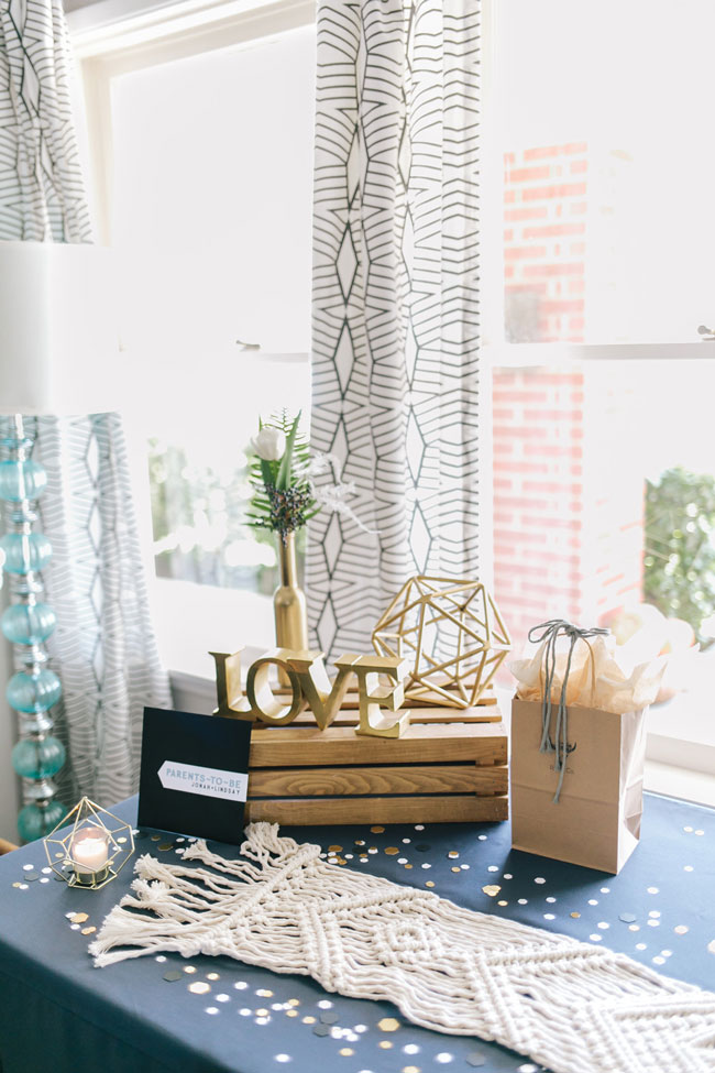 Boho Themed Baby Shower Decorations
