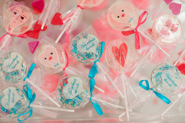 Valentine's Day Party Lollipops