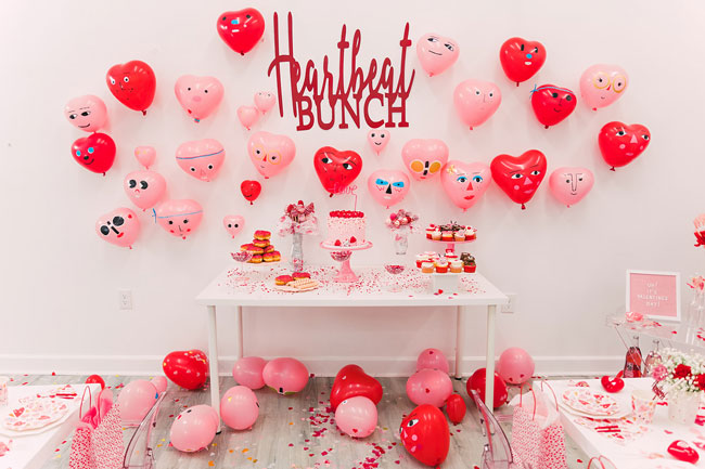 Heartbeat Valentine's Day Party Decorations