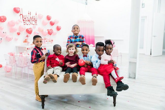 Kid's Heartbeat Bunch Valentine's Day Party