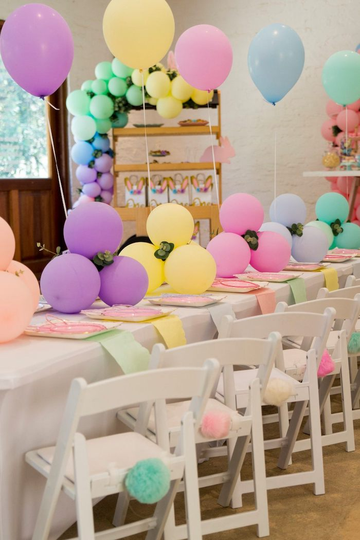 Some Bunny Is One Tablescape