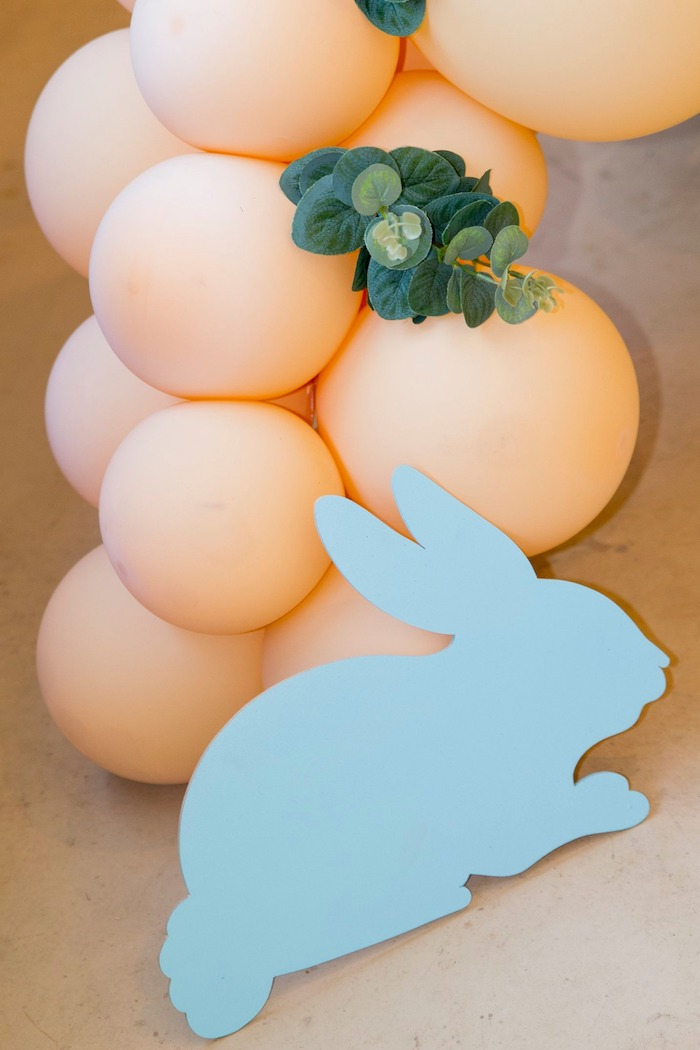 Some Bunny Is One Bunny Decor