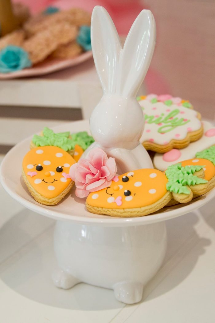 Some Bunny Is One Carrot Cookies
