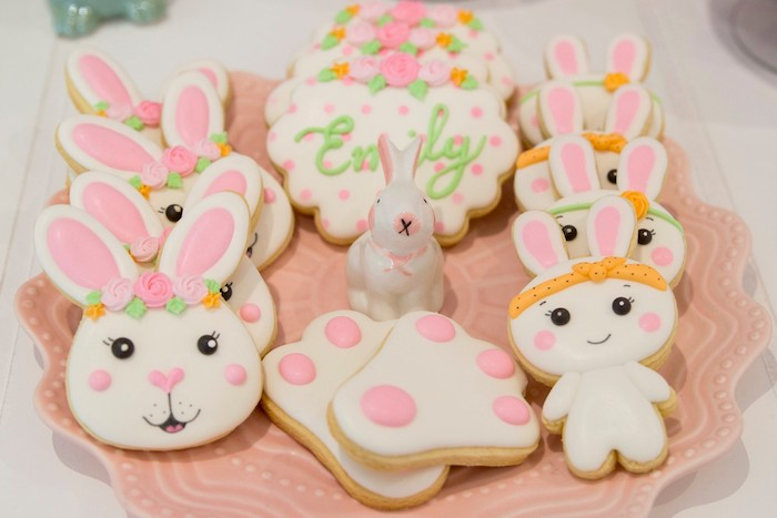 Some Bunny Is One Sugar Cookies