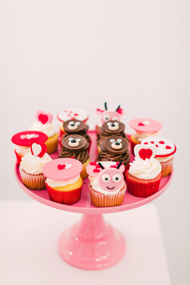 Valentine's Day Party Cupcakes