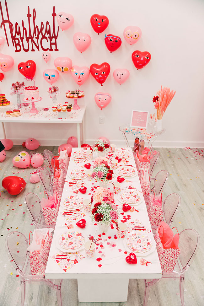 Heartbeat Themed Valentine's Day Party For Kids