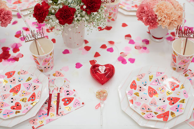 Valentine's Day Party Table Ideas For Kids