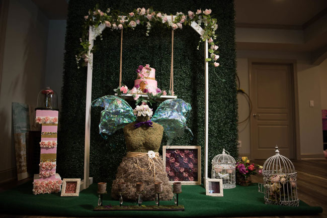 Whimsical Garden 1st Birthday Party Decorations