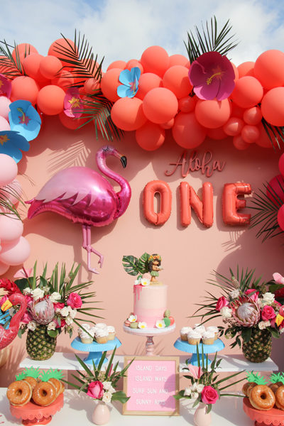 Aloha 1st Birthday Party