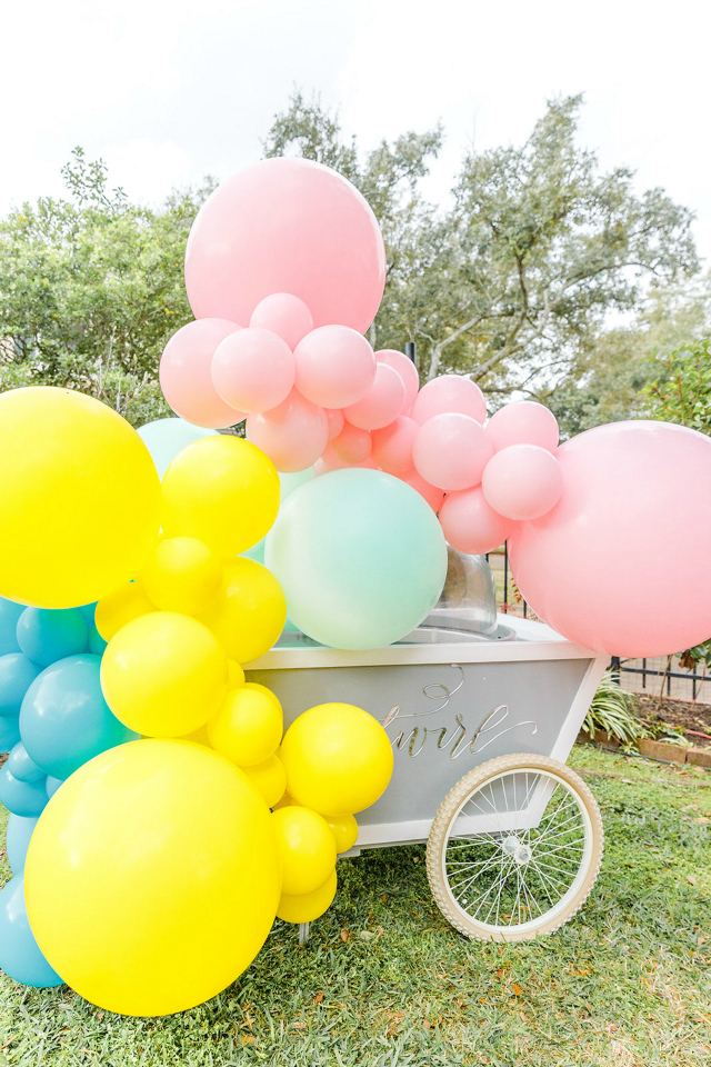 Pastel Balloon Garland Decoration