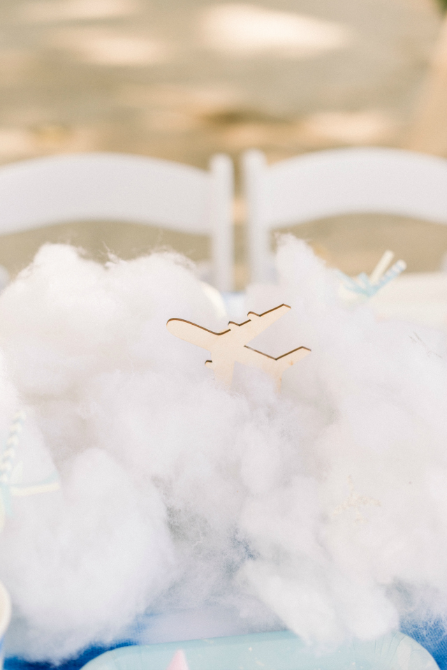 Cloud and Plane Centerpiece