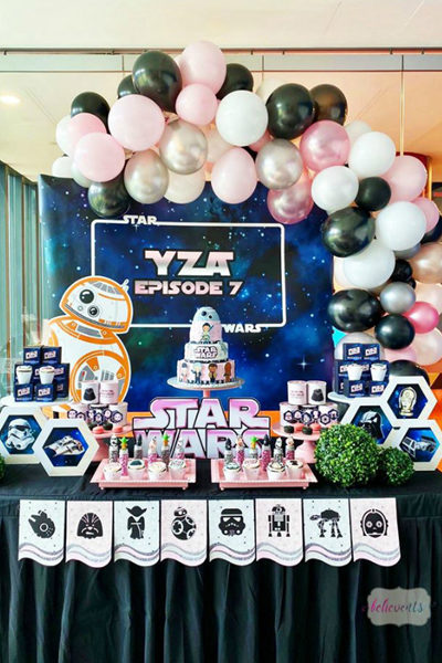 Girl's Star Wars Party