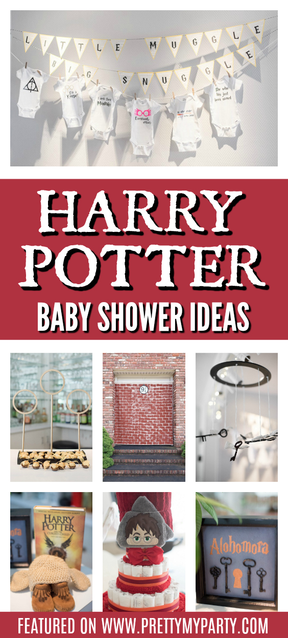 Harry Potter Baby Shower Ideas on Pretty My Party