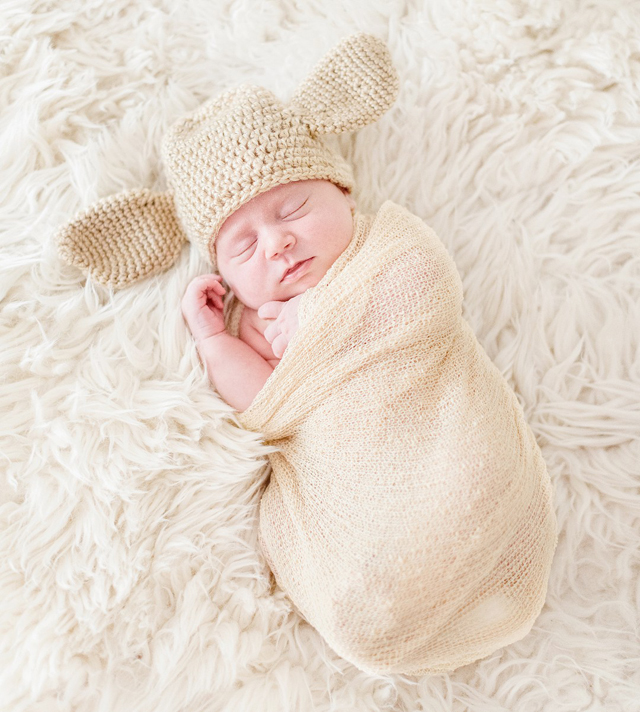 Harry Potter Themed Newborn Photo