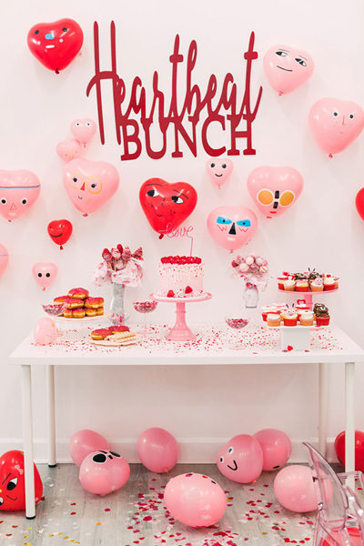 Heartbeat Bunch Valentine's Day Party